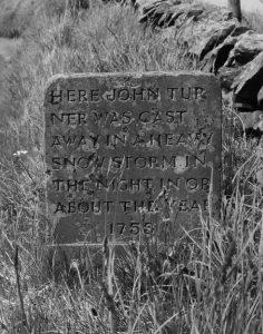 John Turner's Memorial Stone